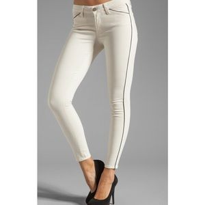 Paige Denim Jeans Pipeline Ultra Skinny In Cream